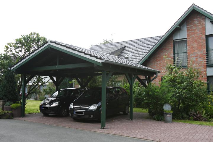 Carport Wintergarten